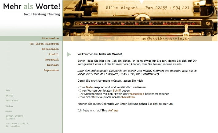 www.textberaterin.de