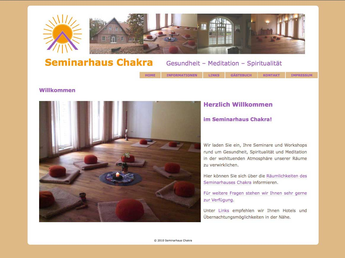Seminarhaus Chakra in Ahaus
