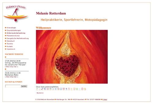 Balancepraxis - Melanie Rotterdam - Heilpraktikerin