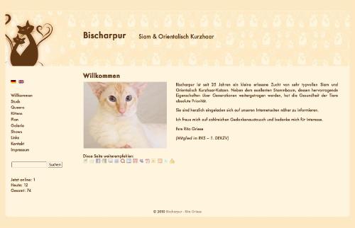 Bischarpur - Siam & Orientalisch Kurzhaar