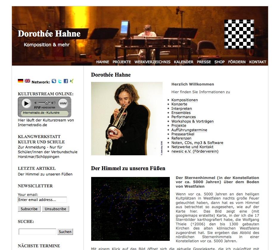 Dorothée Hahne - Komposition & mehr