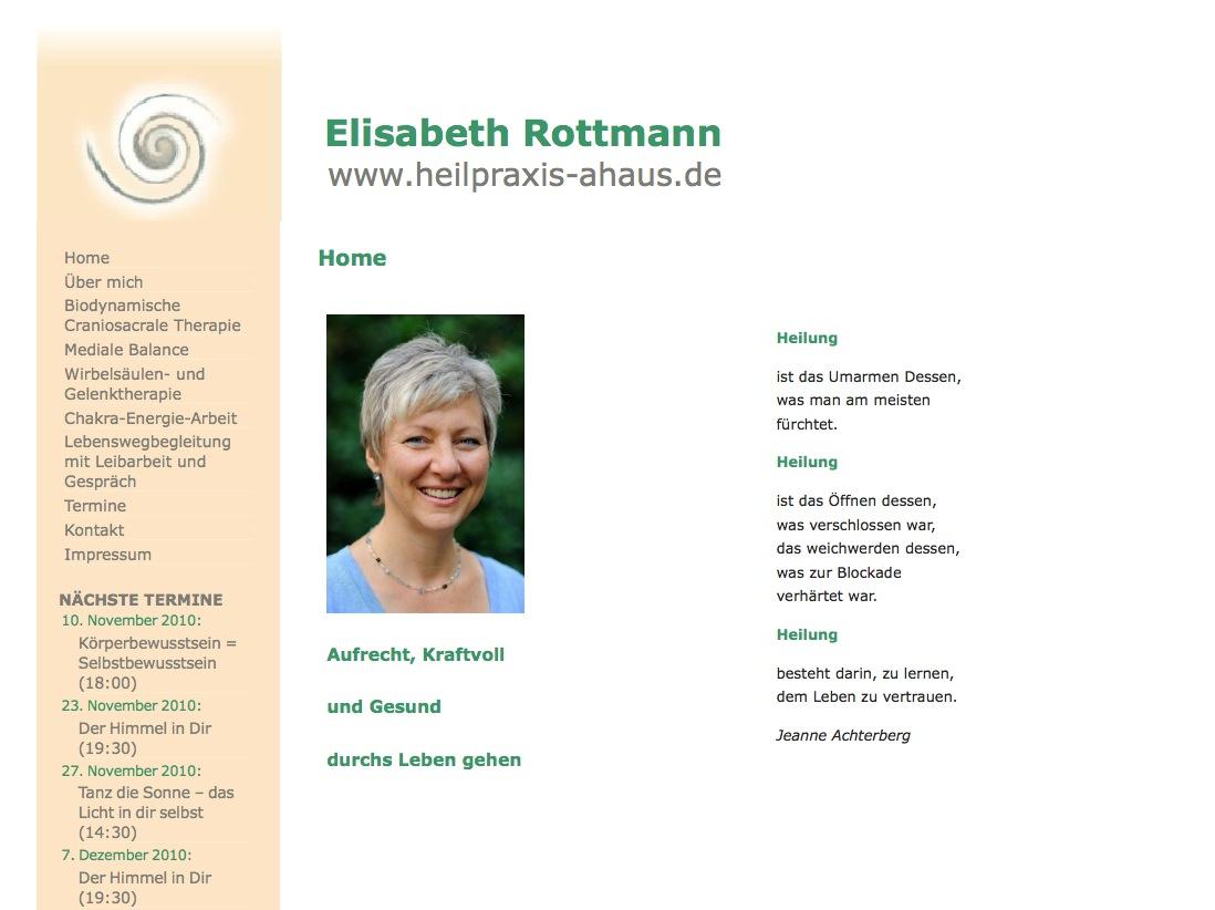 Heilpraxis Ahaus - Elisabeth Rottmann