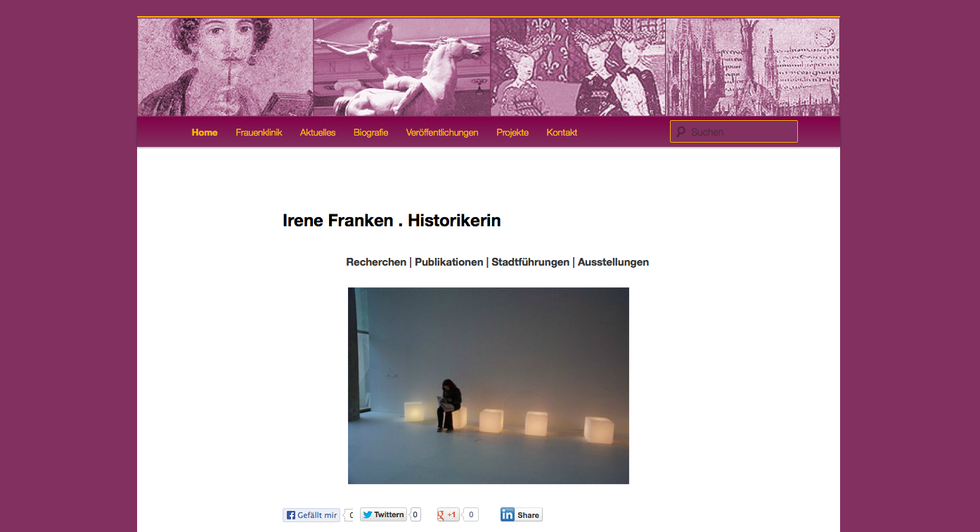 www.ifranken.net - screenshot